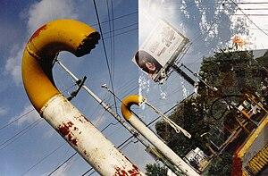 Español: Registro fotografico de la Contaminac...