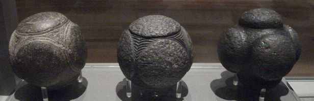Prehistoric Petrosphere - Carved Stone Spheres and Balls