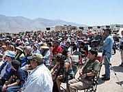 Approximately 1,100 people attended the 38th Annual Manzanar Pilgrimage, April 28, 2007.