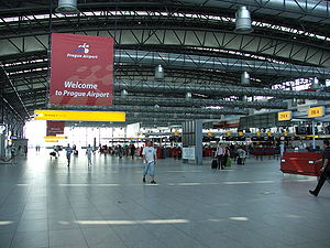 Departure hall of Terminal 2 opened in 2006