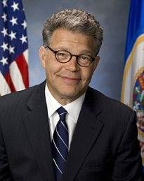 Al Franken Official Senate Portrait