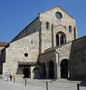 Aquileia, Basilica patriarcale. Esterno.