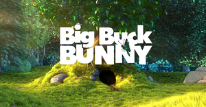 English: Screenshot of the Big Buck Bunny movi...