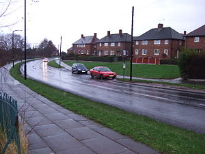 English: Hackenthorpe Council Housing Estate, ...