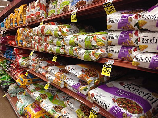 Dog food aisle iams dog food