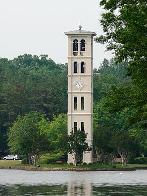 Bell Tower at Furman University, Greenville, S...