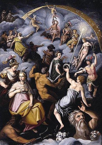 Berkas:Jacopo Zucchi - The Assembly of the Gods.jpg