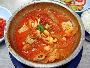 Korean stew-Kimchi jjigae