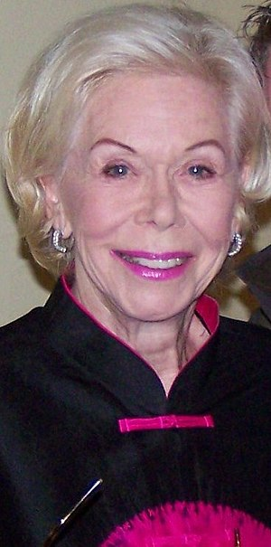 Louise Hay in London