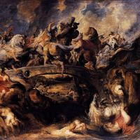"""Battle of the Amazons"" by Peter Paul Rubens"