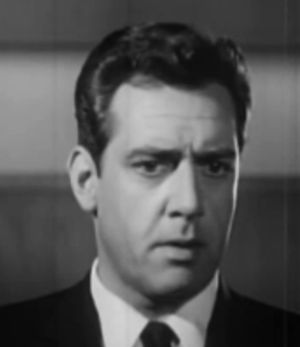 Cropped screenshot of Raymond Burr from the fi...