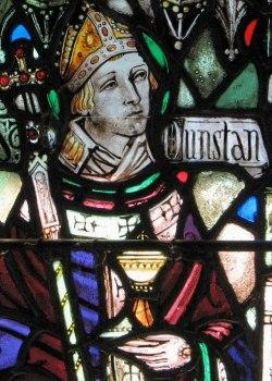 sveti Dunstan - menih in škof