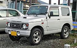 Suzuki Jimny series JA12W