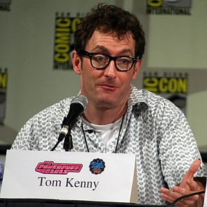 Tom Kenny at Comic-Con 2008.