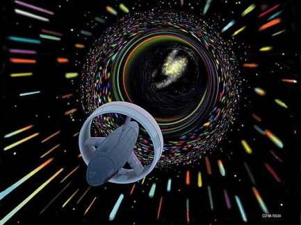 Wormhole travel as envisioned by Les Bossinas for NASA: a time travel expedition