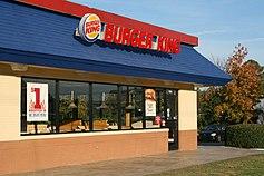 A Burger King in Durham, North Carolina