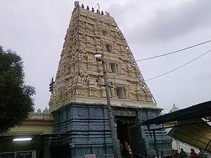 The Bhadrachalam Temple.