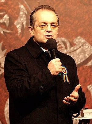 English: Emil Boc speaking.