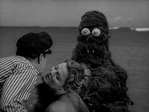 A screenshot from the film Creature from the H...