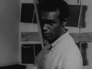 Actor Duane Jones in a scene from the movie Ni...