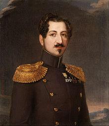Erik (Wahlberg) Wahlbergson - Oscar I, King of Sweden and Norway 1844-1859 - Google Art Project.jpg