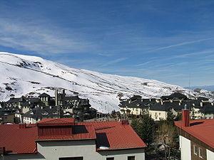 Sierra Nevada ski resort about 30 km from Granada