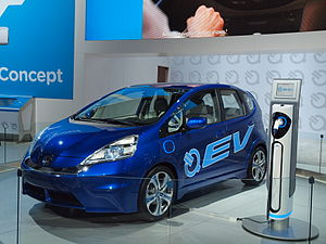 English: Honda Fit EV concept unveiled at the ...