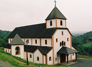"Deutsch: Kirche ""Maria, Hilfe der Christen"" de..."