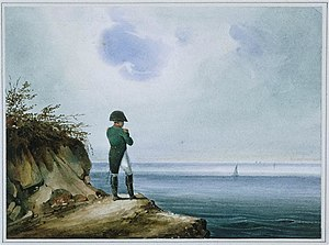 Napoleon at Saint Helena.