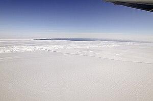 NASA's DC-8 flew over the Pine Island Glacier ...