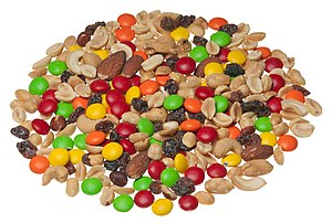 leftovers make trail mix