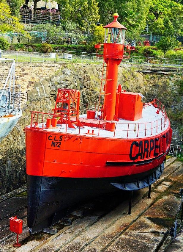 Queensland Maritime Museum - Joy of Museums - Carpentaria Light Ship 2