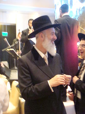 Chief Ashkenazi Rabbi of Israel, Rabbi Yona Me...
