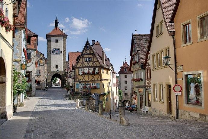 principais pontos turísticos da Alemanha - Rothenburg ob der Tauber