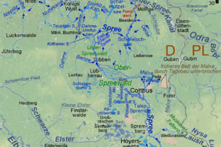 map of the oder river » Free Interior Design | Mir Detok