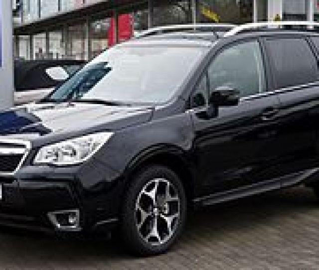 Fourth Generation Subaru Forester