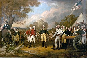 """The surrender at Saratoga"" shows Ge..."