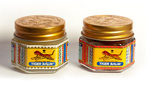 Red and white tigerbalm