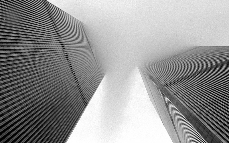 File:World Trade Center fog.jpg
