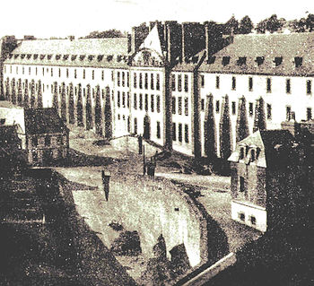 The penal colony of Brest