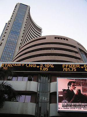 The Mumbai Stock Exchange stands tall, and is ...