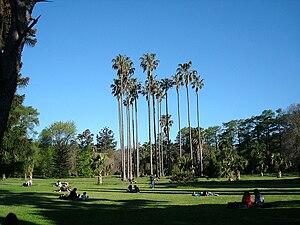 The Botanic Garden in Prado Park, Montevideo, ...