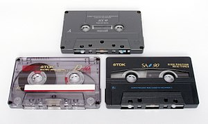 Cassettes of varying tape quality and playing ...
