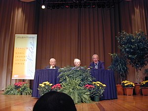 English: Ford/MIT Nobel Laureate Lecture Serie...