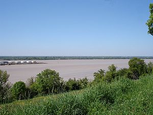 France, Gironde (33), Gironde estuary and bec ...