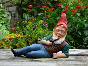 German garden gnome