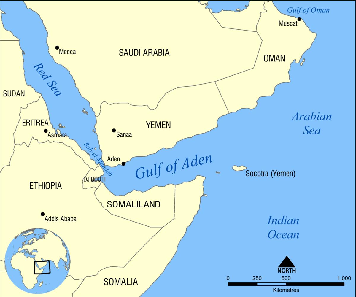 Gulf Of Aden Wikipedia