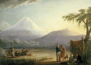 Alexander von Humboldt and Aimé Bonpland at th...