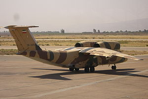 English: An-74T Iran AirForce at on September ...