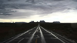 Road to Monument Valley - Where Forrest Gump s...